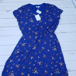 Wayf Royal Blue Dress